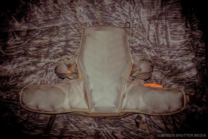 Waist, lumbar, and upper back padding.