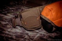 Magnetic flap shotgun holder (Closed)
