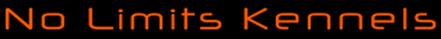 No Limits Kennels Logo